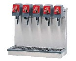 Home Soda Five Flavor Tower Dispensers